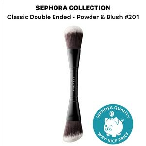 Classic Doubled Ended Powder & Blush Brush